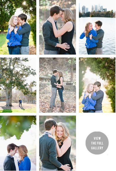 Style Me Pretty Feature - LBB - SMP - Georgia - SMP Georgia - Atlanta Wedding Photography - Atlanta Engagement Photographer - Husband and Wife Team - Piedmont Park engagement session - piedmont park atlanta -