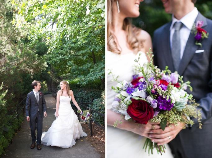 Marietta gardens wedding
