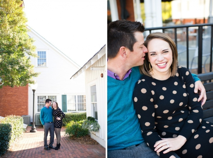 Kate and Brad - Atlanta Engagement Photography- Session by Brita Photography - romantic river engagement 02