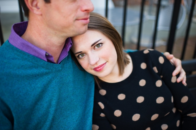 Kate and Brad - Atlanta Engagement Photography- Session by Brita Photography - romantic river engagement 03
