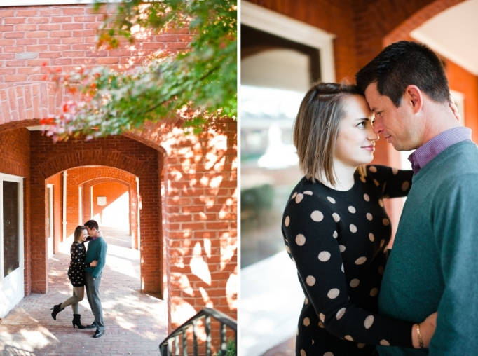 Kate and Brad - Atlanta Engagement Photography- Session by Brita Photography - romantic river engagement 04