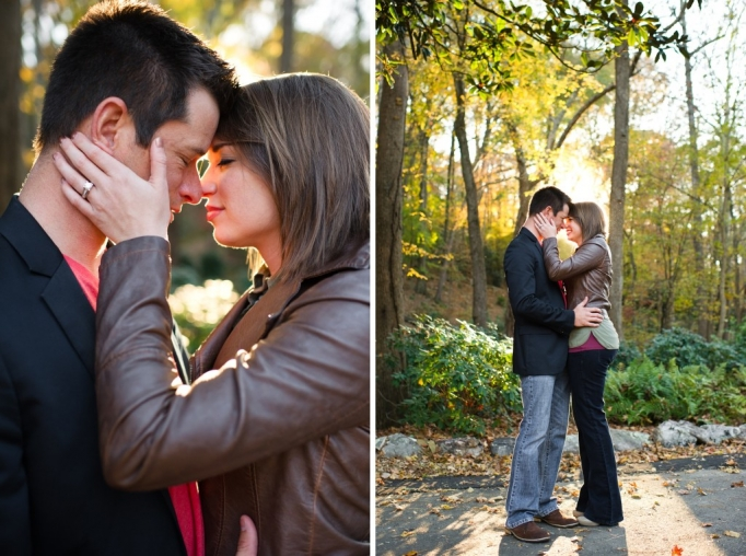 Kate and Brad - Atlanta Engagement Photography- Session by Brita Photography - romantic river engagement 08