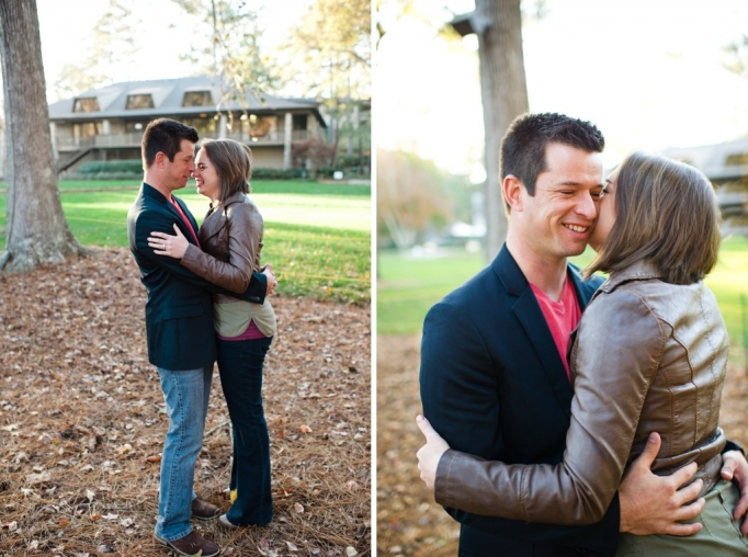 Kate and Brad - Atlanta Engagement Photography- Session by Brita Photography - romantic river engagement 11