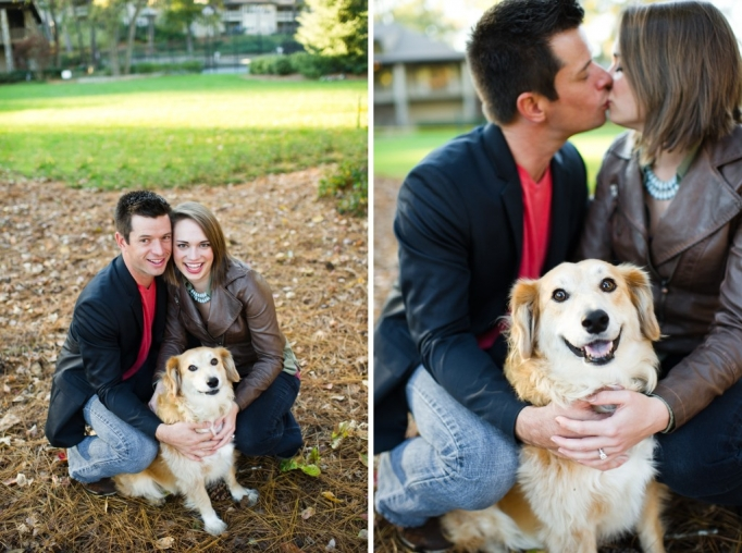 Kate and Brad - Atlanta Engagement Photography- Session by Brita Photography - romantic river engagement 12