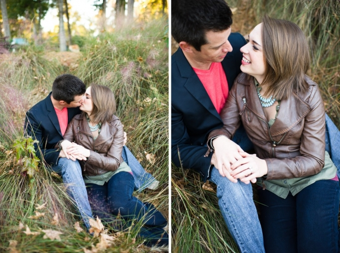 Kate and Brad - Atlanta Engagement Photography- Session by Brita Photography - romantic river engagement 17