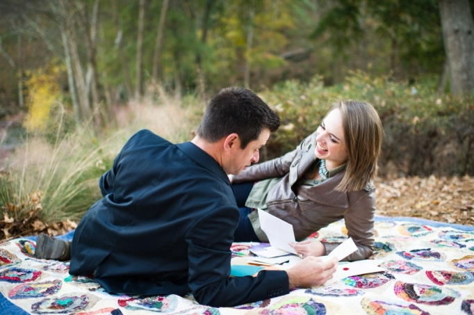 Kate and Brad - Atlanta Engagement Photography- Session by Brita Photography - romantic river engagement 20