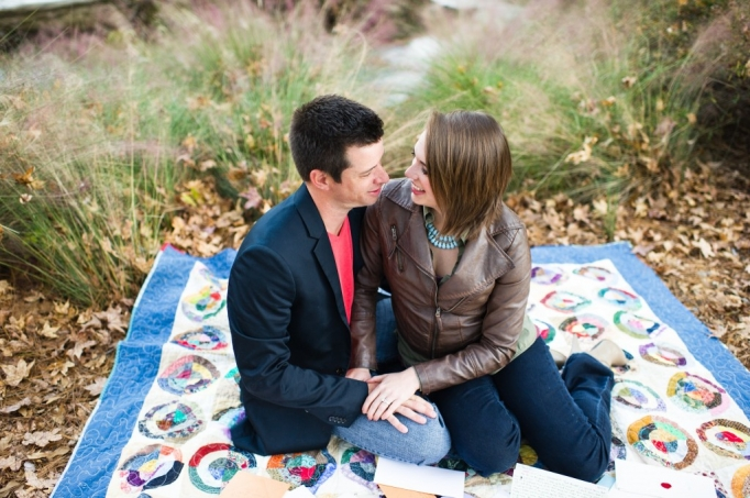 Kate and Brad - Atlanta Engagement Photography- Session by Brita Photography - romantic river engagement 23