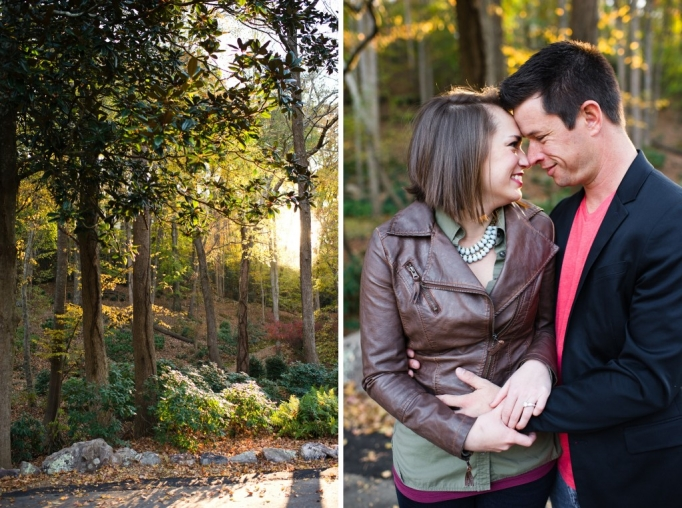 Kate and Brad - Atlanta Engagement Photography- Session by Brita Photography - romantic river engagement 30