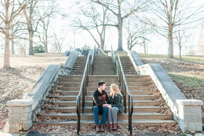Ansley, Joe, Piedmont Park, Piedmont Park engagement session, winter engagement, winter portraits, dog with engagement session, winter shoot, brita photo, wedding photography team 19