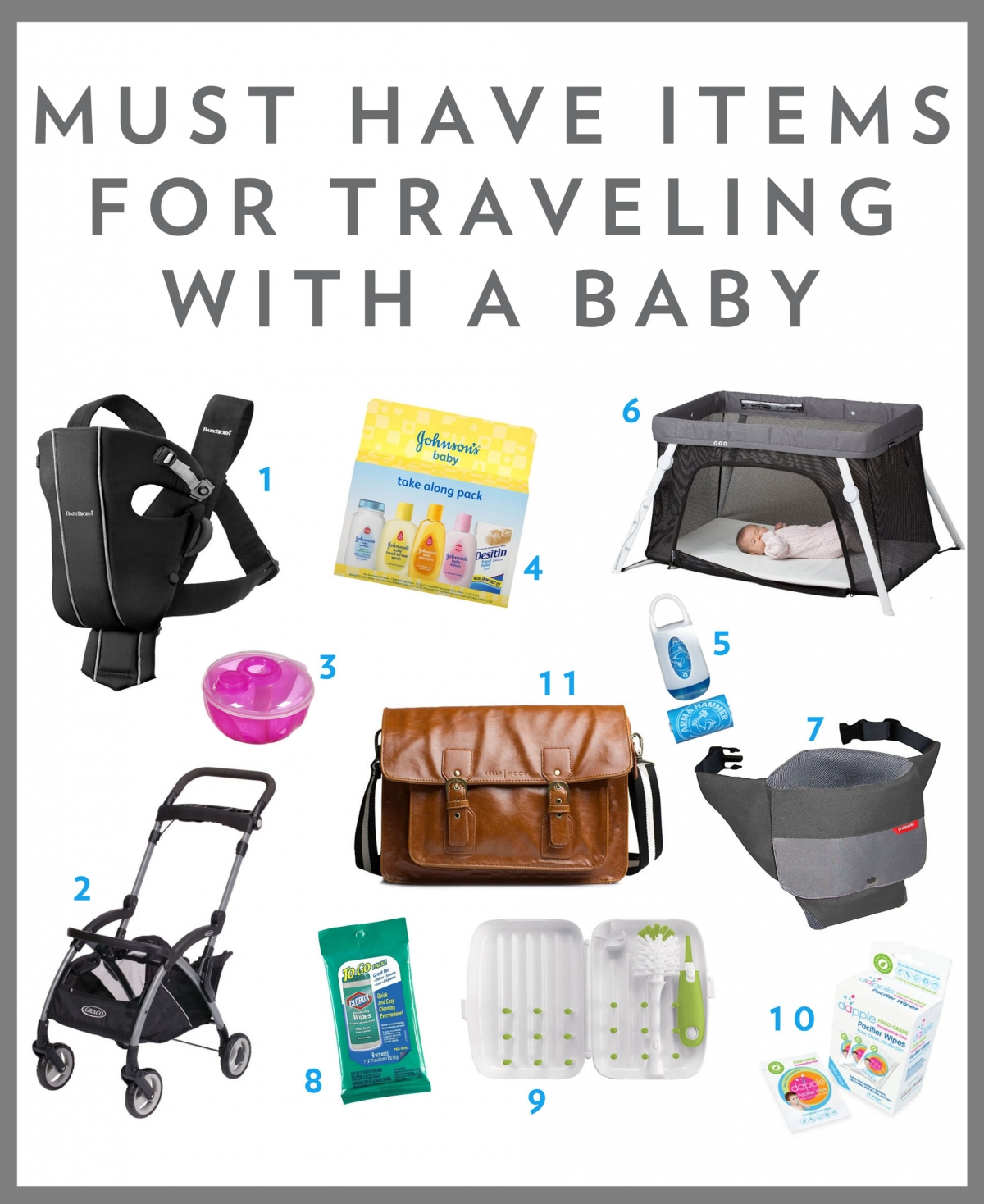 must have items for traveling with a 6 month old baby brita photography. Black Bedroom Furniture Sets. Home Design Ideas