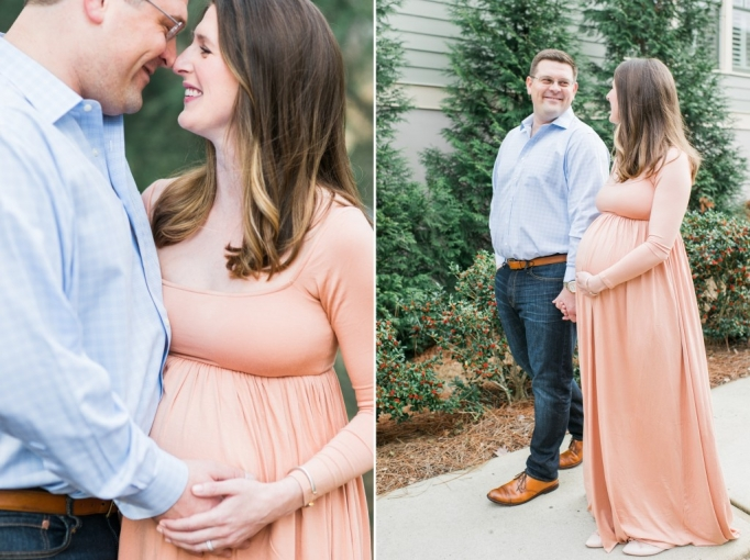 Cheney & Adam, winter, maternity session, romantic 13